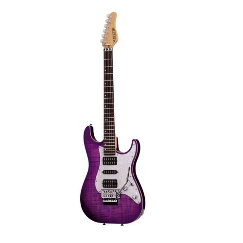 SCHECTER SUNSET CUSTOM USA PRODUCTION SERIES ELECTRIC MAGENTA