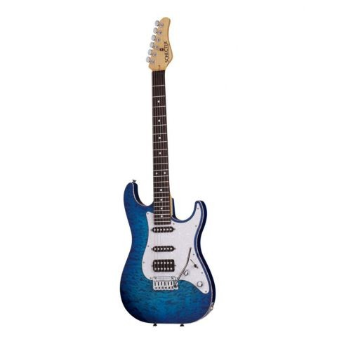 SCHECTER SUNSET CUSTOM USA PRODUCTION SERIES TRANS SKY BLUE
