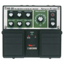 BOSS RE-20 Twin Pedal : Space Echo