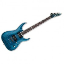 LTD GUITARS MH-1000NT STB SEE THRU BLUE