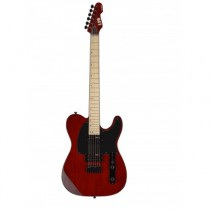 LTD GUITARS TE200M-STBC TE200 MAPLE SEE THRU BLACK CHERRY