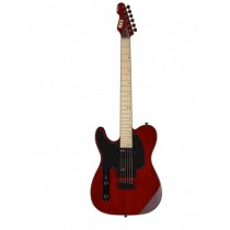 LTD GUITARS GAUCHER TE200M SEE THRU BLACK CHERRY