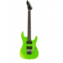 LTD GUITARS M-50 FLOYD ROSE NEON GREEN