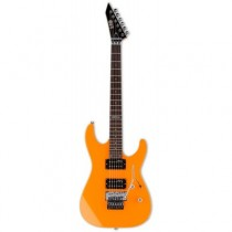 LTD GUITARS NOR M-50 FLOYD ROSE NEON ORANGE